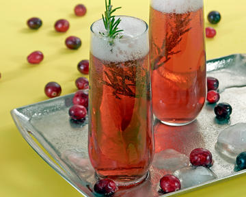 Vanilla Cranberry Cocktail